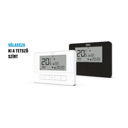 TECH  EU-T-4.1 vezetékes on/off termosztát