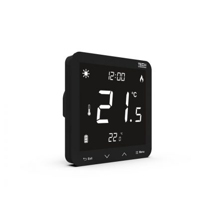 TECH  EU-297z v2 vezeték nélküli termosztát - végrehajtó modul (süllyesztett) 230V